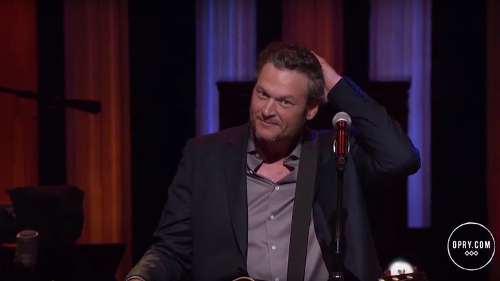 See Blake Shelton Fire Up the Opry With 'Gonna'