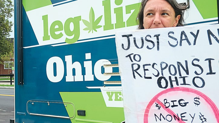 Ohio's Weed War: Corporations, Activists Clash Over Legal Pot