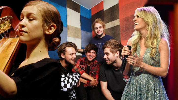 New Music Friday: 5 Seconds of Summer, Joanna Newsom, Carrie Underwood