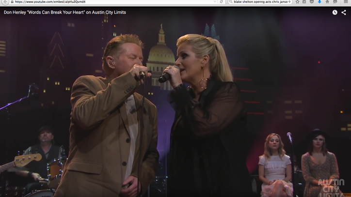 See Don Henley, Trisha Yearwood Duet on 'Words Can Break Your Heart'