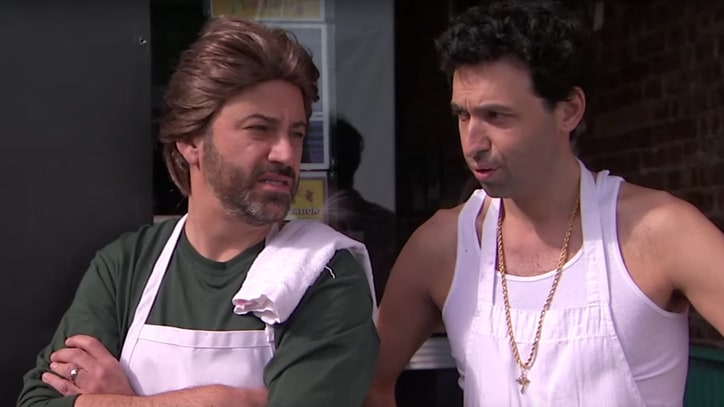 Watch Jimmy Kimmel's Gentrified Brooklyn Send-Up 'Do the White Thing'