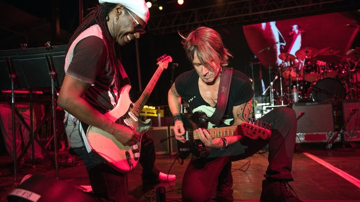 Keith Urban on Working With Nile Rodgers, Letting the Songs Lead