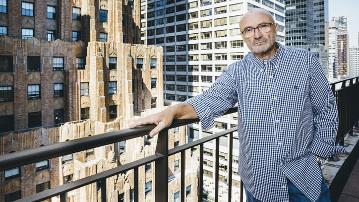 Phil Collins Plotting Comeback: 'I Am No Longer Retired'