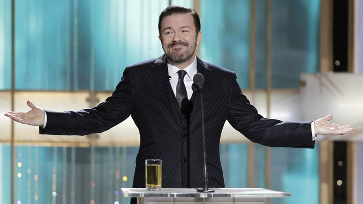 Ricky Gervais to Return as Golden Globes Host