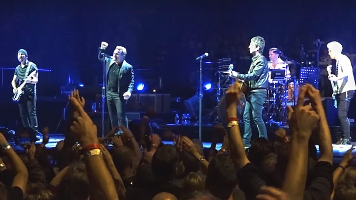 Watch Noel Gallagher Join U2 for 'I Still Haven't Found What I'm Looking For'