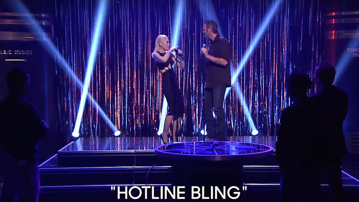 Watch Gwen Stefani, Blake Shelton Cover 'Hotline Bling' on 'Fallon'