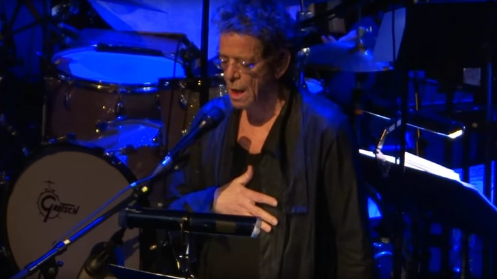Flashback: Lou Reed Plays 'Candy Says' At His Final Performance