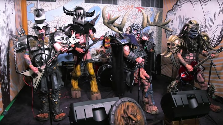 Watch Gwar Thrash Through Cyndi Lauper's 'She Bop'