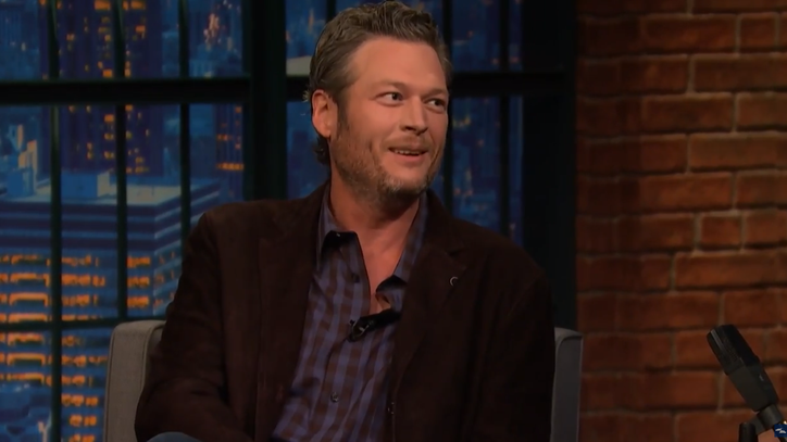 Watch Blake Shelton Talk Miranda Lambert, 'Awkward' CMAs