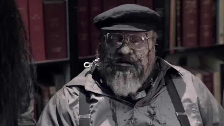 Watch George R.R. Martin's Zombie Cameo in 'Z Nation'
