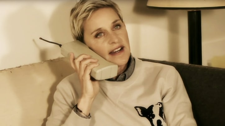 Watch Ellen, Adele's Missed Connection in 'Hello' Spoof
