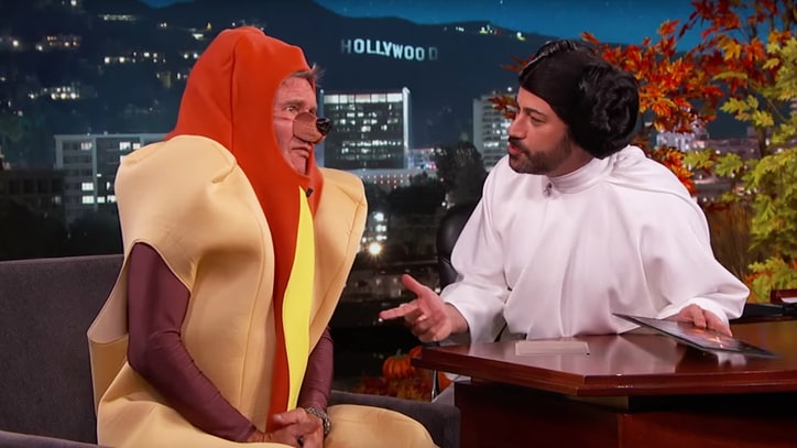 Watch Harrison Ford as a Hot Dog Rave About New 'Star Wars'
