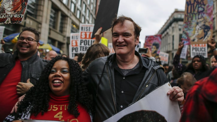 Quentin Tarantino's Father Joins Police Unions in Condemning Director