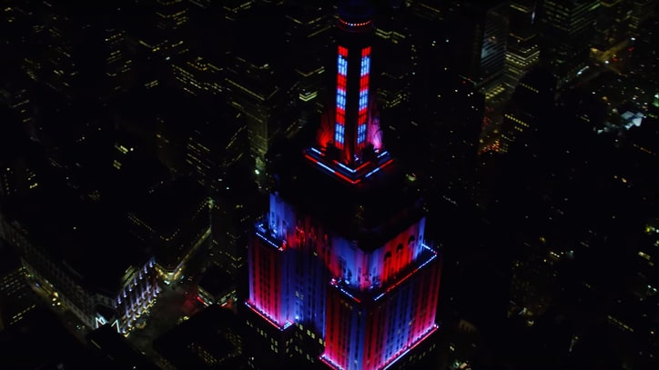 Watch Steely Dan's 'FM' Soundtrack Empire State Building Light Show