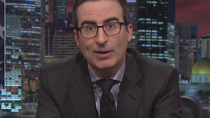 John Oliver Unveils 'Secret Weapon' Versus China: Kenny G