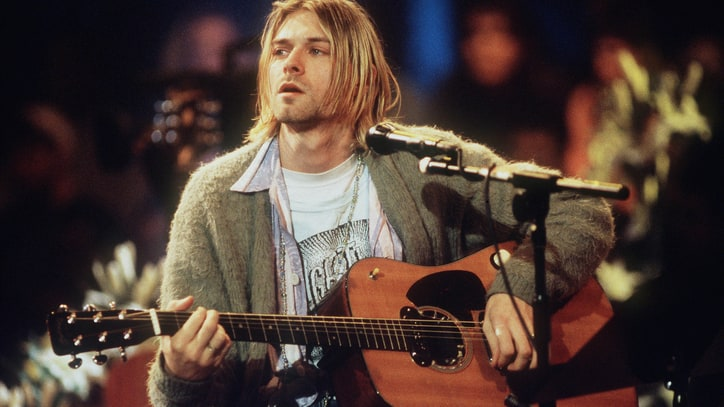 Kurt Cobain's 'Unplugged' Cardigan, Lost John Lennon Guitar Up for Auction