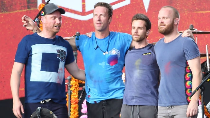 Coldplay Announce New LP 'A Head Full of Dreams'