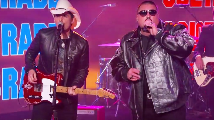Brad Paisley, Color Me Badd Unite for 'I Wanna Sex You Up' on 'Kimmel'