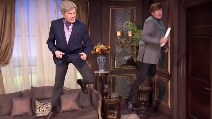 Bryan Cranston, Jimmy Fallon Reach Peak Goofiness in Fake Soap Opera