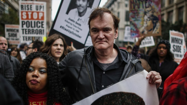 Quentin Tarantino Dismisses Police Boycotts of 'Hateful Eight'