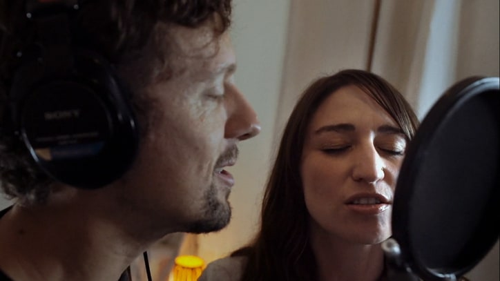 Watch Sara Bareilles, Jason Mraz Record Theatrical New Duets