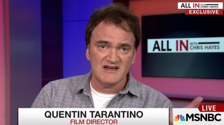 Quentin Tarantino Clarifies Police Comments: 'I'm Not a Cop Hater'