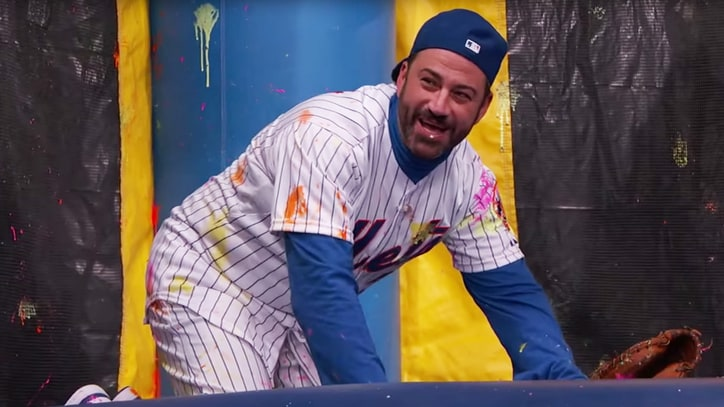 Watch the Kansas City Royals Blast Jimmy Kimmel With Paintballs