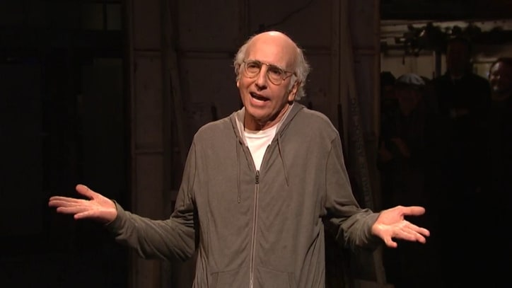 Larry David Wins $5,000 for Calling Donald Trump a Racist on 'SNL'