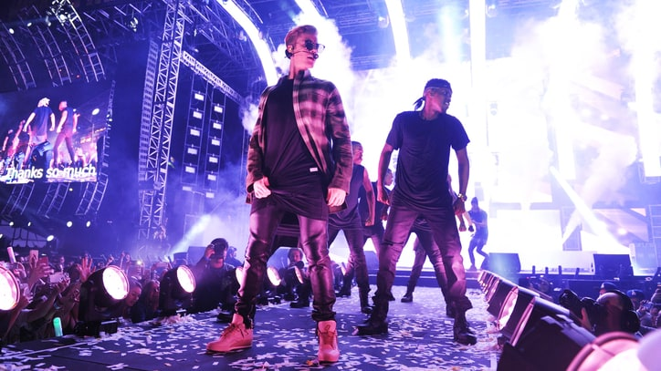 Justin Bieber Details Massive North American 'Purpose' Tour