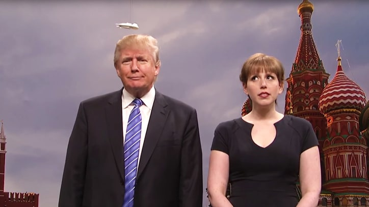 Watch Donald Trump's Hair Get Navy Seal Protection in Cut 'SNL' Sketch