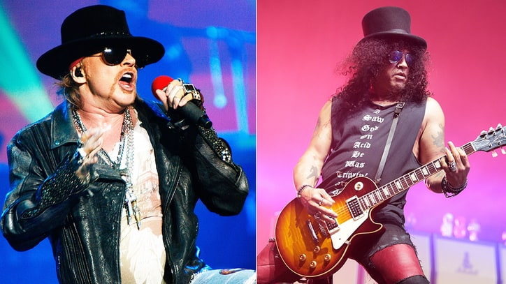 Axl Rose, Slash to Reunite Guns N' Roses at Coachella