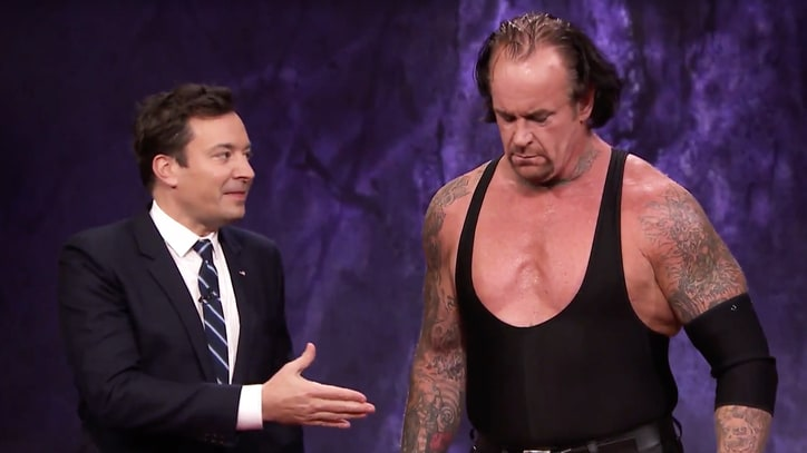 Watch the Undertaker Tombstone a Turkey, Terrify Jimmy Fallon