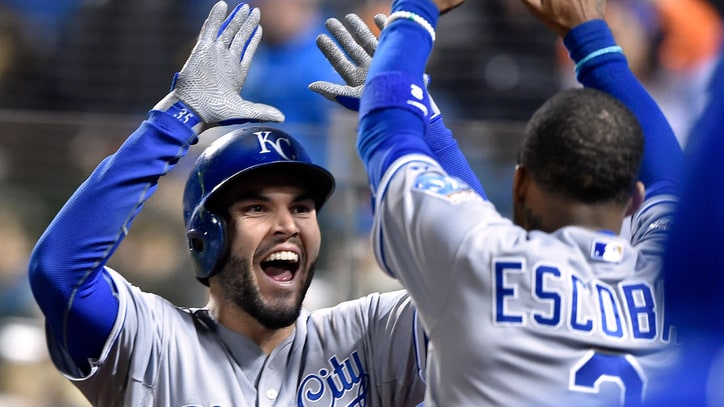 Royals' Eric Hosmer on Partying Like a Champ, Pouring Beers on Paul Rudd