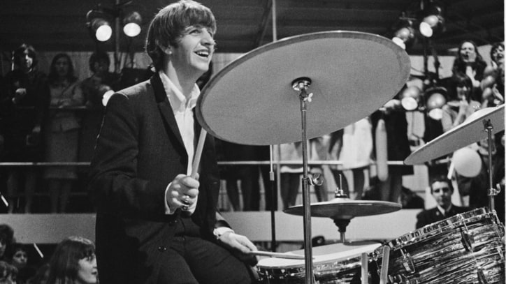 Ringo Starr Auction Features 'Can't Buy Me Love' Drums, John Lennon's Guitar