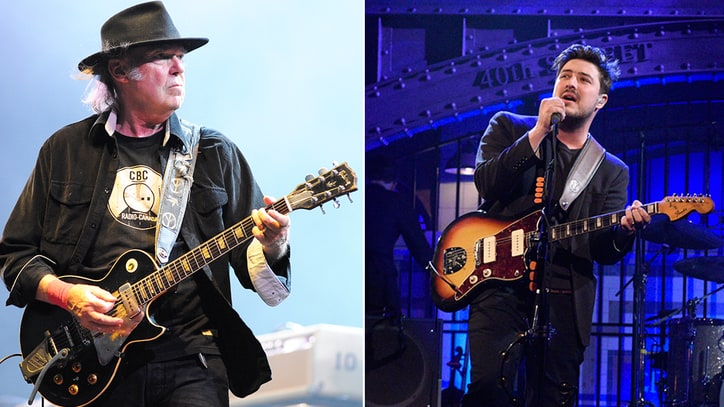 Neil Young, Mumford & Sons Join 24-Hour Live Earth Event