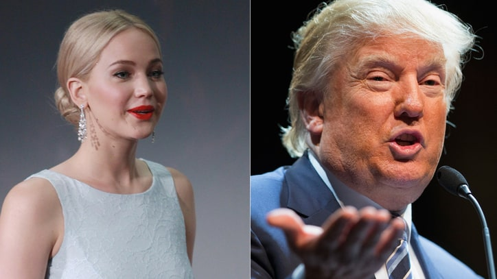 Jennifer Lawrence: A Trump Presidency Would Be the 'End of the World'