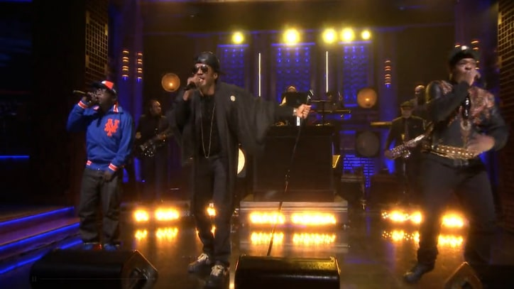 Watch A Tribe Called Quest Reunite for 'Can I Kick It?' With the Roots