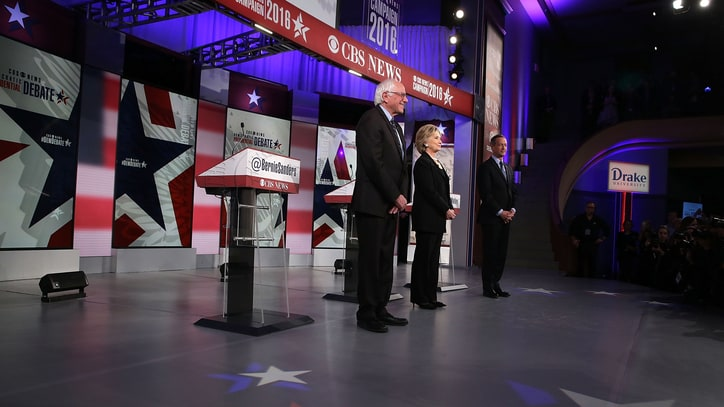 Watch the Democratic Candidates Respond to Paris Attacks at Debate
