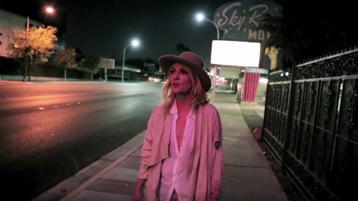 Metric Descend Into Depths of Las Vegas in 'The Governess' Video
