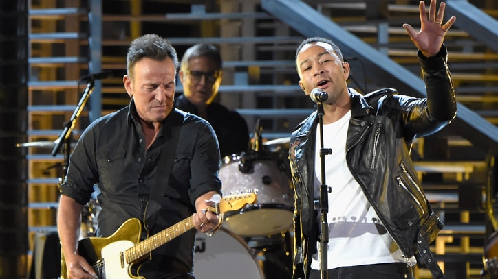 Bruce Springsteen, John Legend Tackle Race at Moving 'Shining a Light' Show