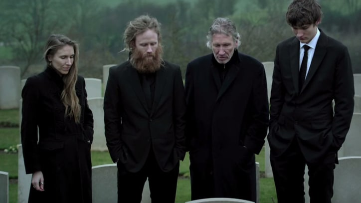See Roger Waters Visit Grandfather's Grave in Moving 'Wall' Clip