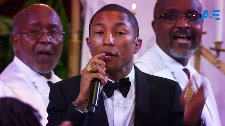 Watch Pharrell Perform 'Freedom' at Charleston Church Shooting Site