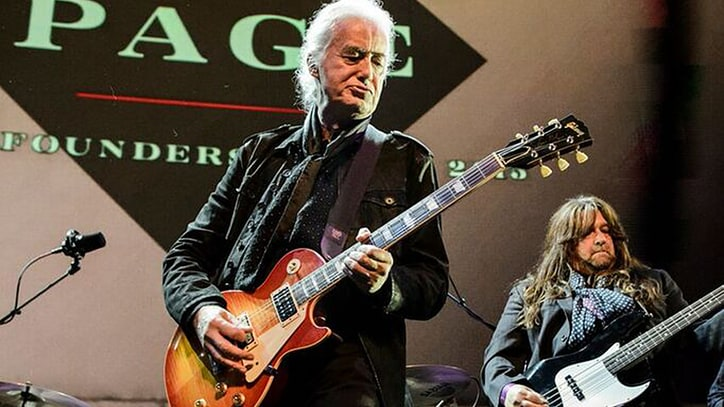 Jimmy Page Jams 'Rock and Roll' with Nirvana, GN'R Members at EMP Tribute