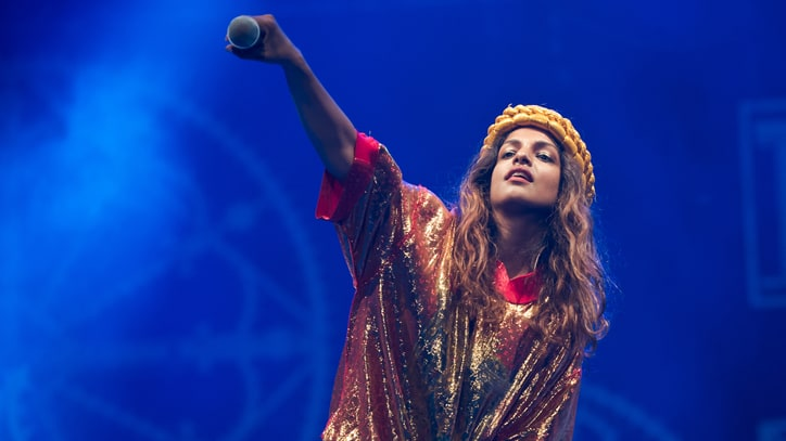Hear M.I.A.'s Skittering New Song 'Borders'