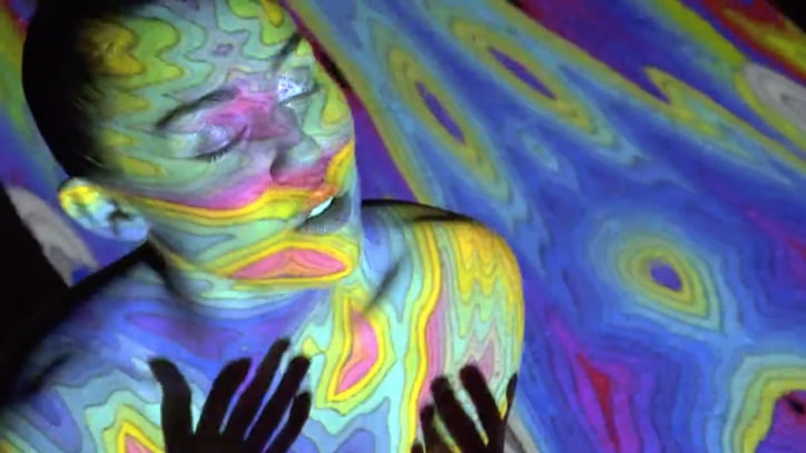 Watch Miley Cyrus' Mesmerizing, Kaleidoscopic 'Lighter' Video