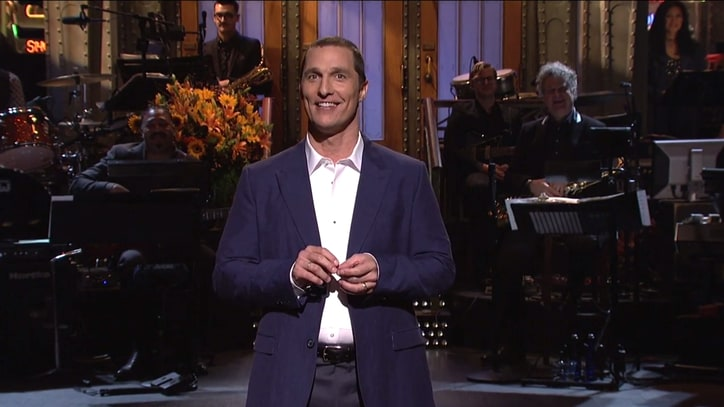 Matthew McConaughey on 'SNL': 3 Sketches You Have to See