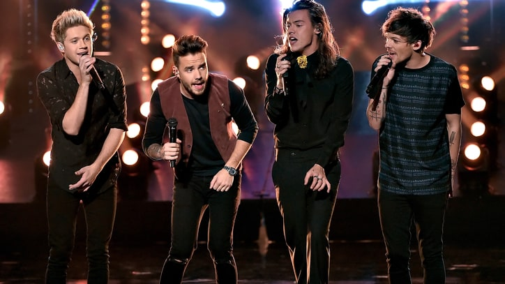 One Direction Bring 'Perfect' Performance to 2015 AMAs