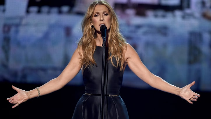 Celine Dion Delivers Touching Paris Tribute at 2015 AMAs
