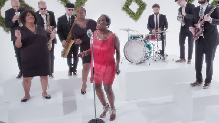 Sharon Jones and Dap-Kings Celebrate 'White Christmas' in Festive New Video