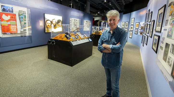 See Graham Nash's Rock and Roll Hall of Fame Museum Treasures